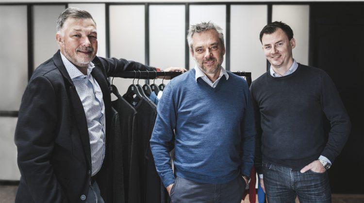 Die drei Account-Manager Bent Nørskov, Michael Jensen und Martin Therkildsen. (Foto: Clipper Corporate)